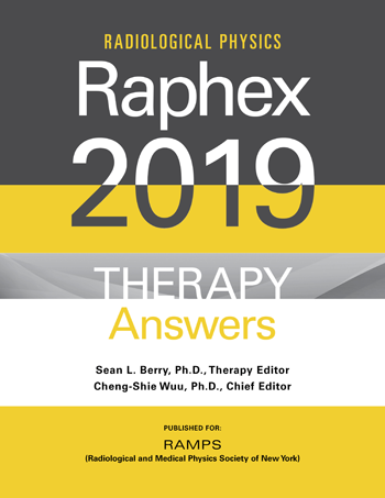 RAPHEX 2019 Therapy Exam and Answers